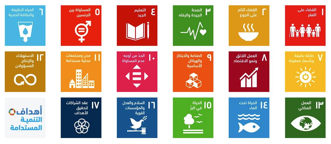 أهداف التنمية المستدامة - المكتب الخاص لمعالي السفير سعيد زكي