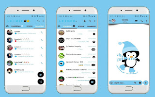 Pinguin Theme For YOWhatsApp & Fouad WhatsApp By Leidiane