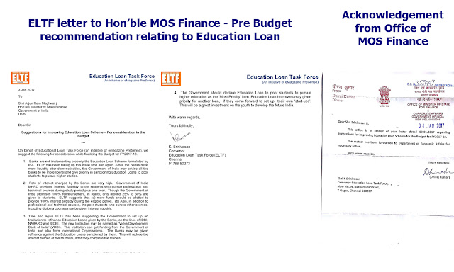 ELTF submits pre budget recommendation to Ministry of Finance on Education Loan