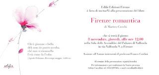art guide book Firenze romantica Florence Italy