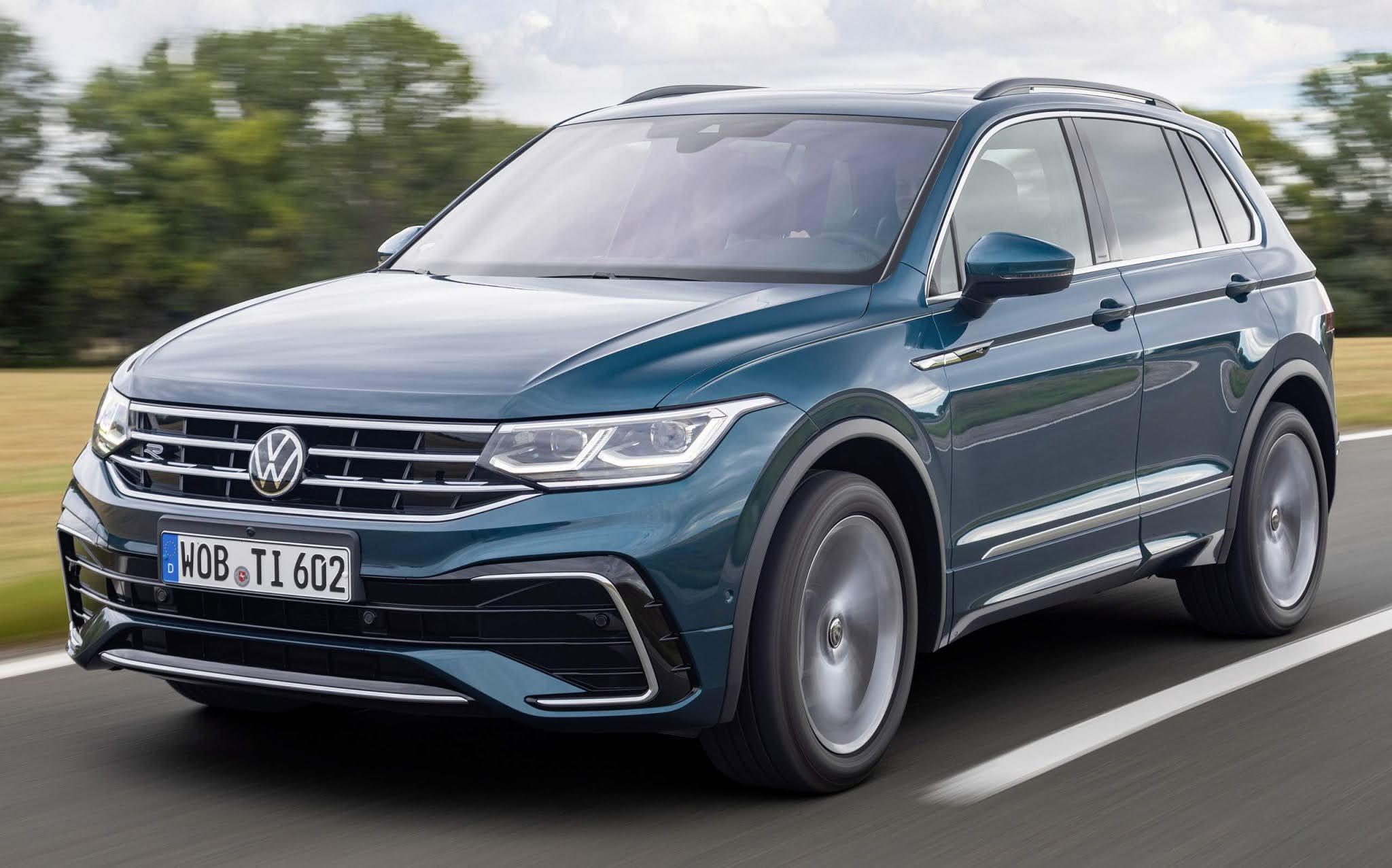 VW Tiguan 2021 com facelift agrada em testes na Europa