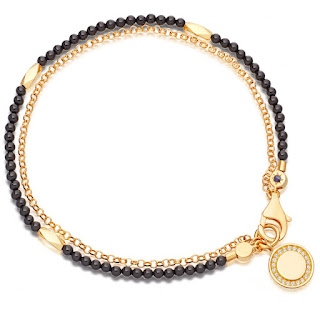 The Astley Clarke Biography bracelet is a famous classic item. I love that they can come in so many different variations but all look simple, colourful and very chic. I especially love the black onyx and the pave charm on the end.