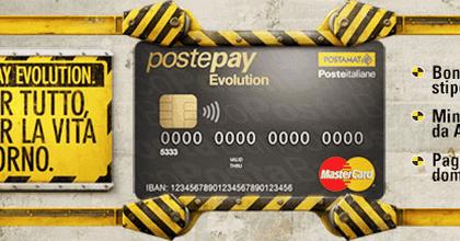 Nuovo IBAN Postepay Evolution - Blogs da seguire