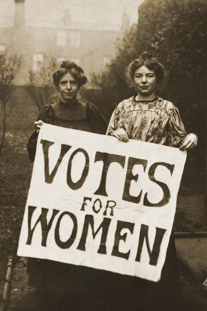 Feminismo origem voto