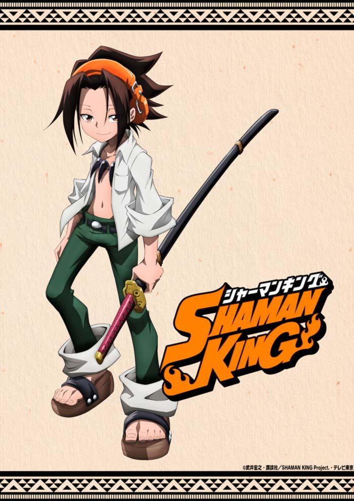 Shaman King anime 2021 - poster
