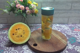 Cara Terbaik Membuat Infused Water Buah Semangka ala dr Zaidul Akbar