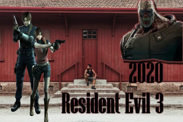 """الشر المقيم 3: العدو"""" لعبة جديدة الظهر القادمة في عام 2020؟ Resident Evil 3"""