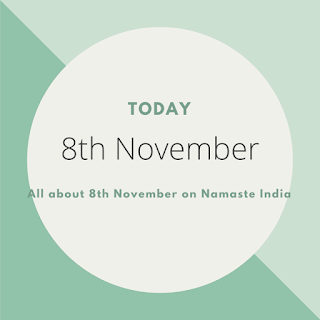 8th November - A Day in the life of India