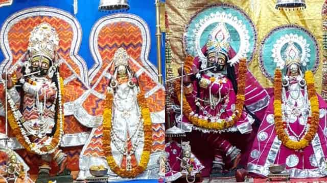 श्रीमाधोपुर में स्थित गोपीनाथ जी का भव्य मंदिर