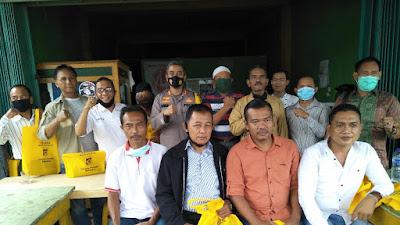 Ngopi Bareng Ala Kapolres Merangin Bersama para ketua Asosiasi di Merangin