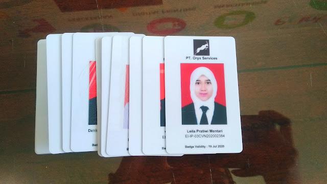 Cetak id card perusahaan