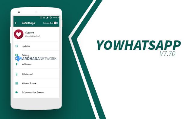 YoWhatsapp V7.70 (YoWA)