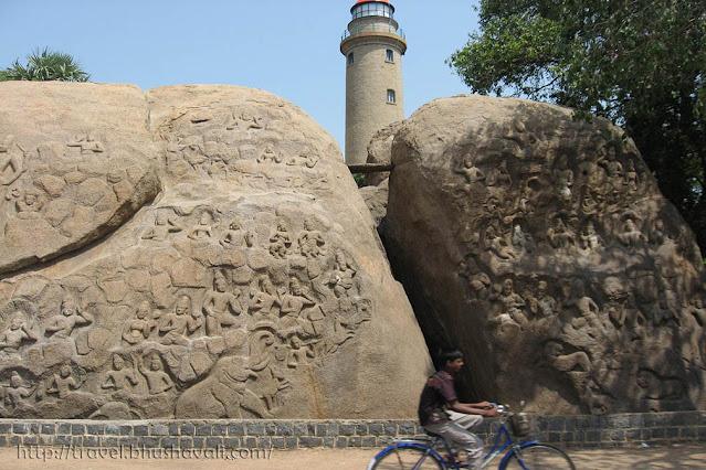 Unfinished Panel of Mahabalipuram Mamallapuram Monuments UNESCO