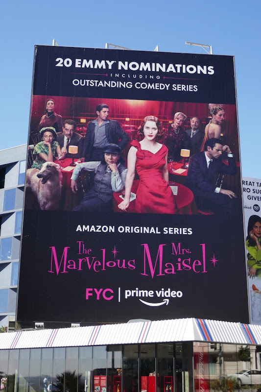 Mrs Maisel 2020 Emmy nominations billboard