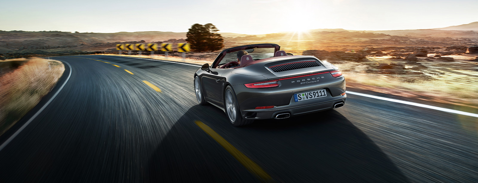 Porsche The new 911 Carrera 4 Cabriolet