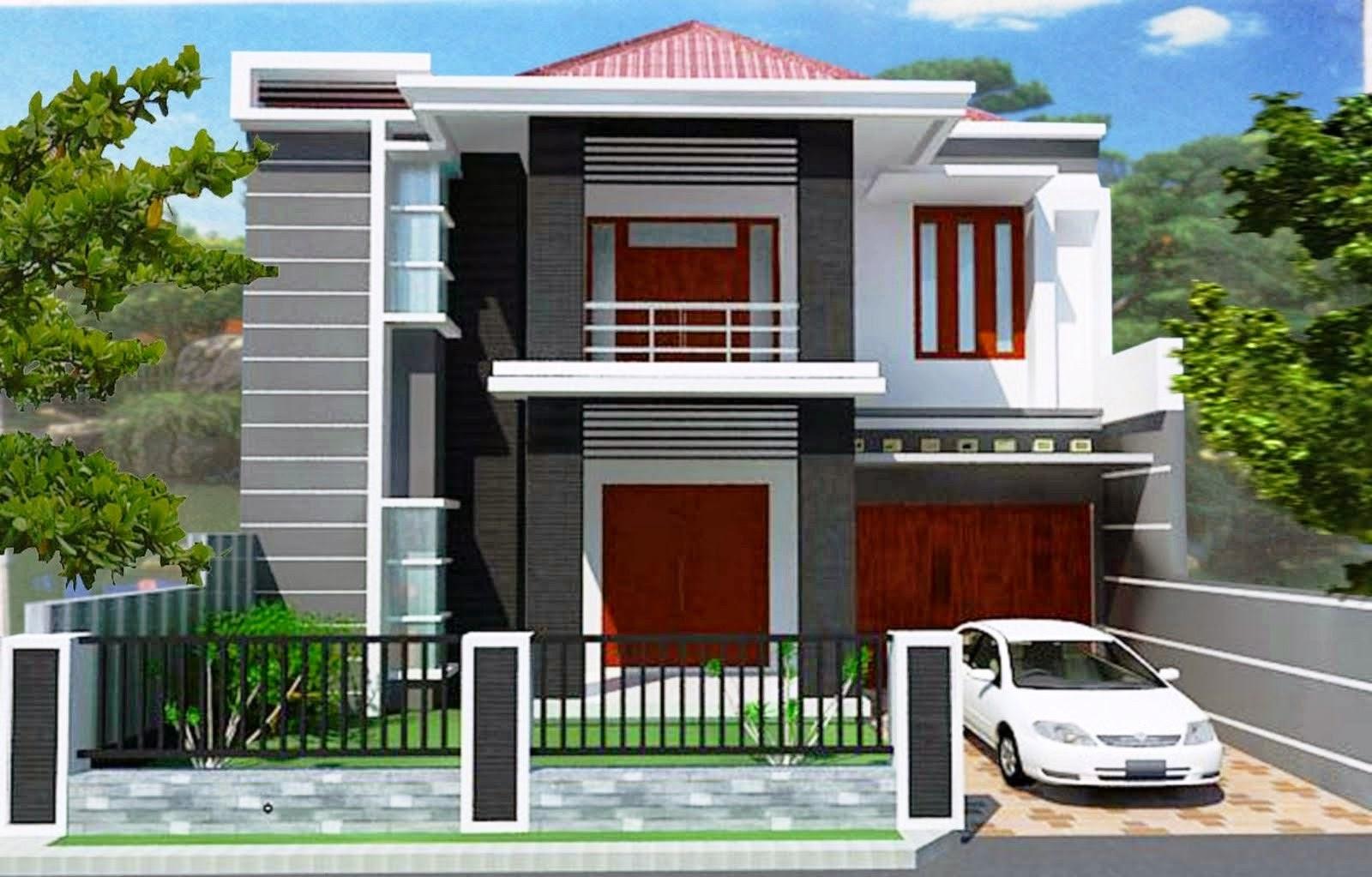 Desain Rumah Tebaru Desain Rumah Minimalis 2 Lantai Type 45 60