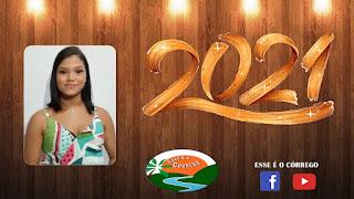 Mensagem de ano novo da Ex-vereadora Andressa