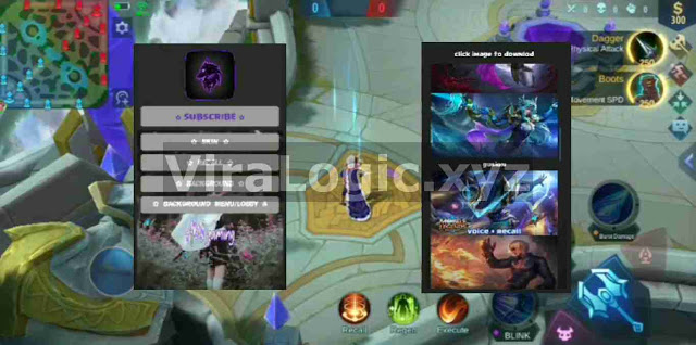 Aplikasi Injector Mobile Legends| Unlock All Skin, Free Recall, Ganti Background