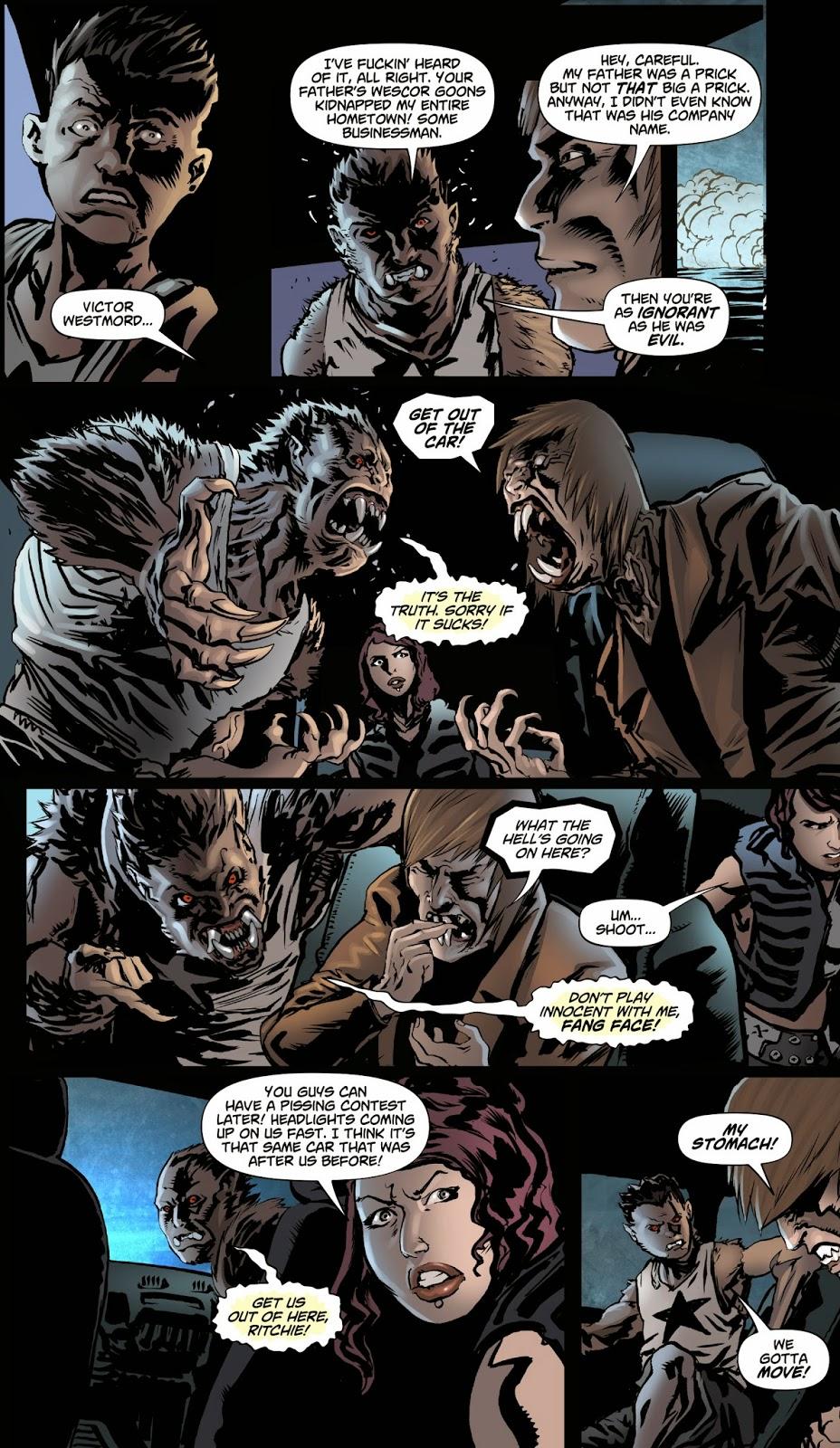 Male Transformations: Captain Midnight (Werewolf