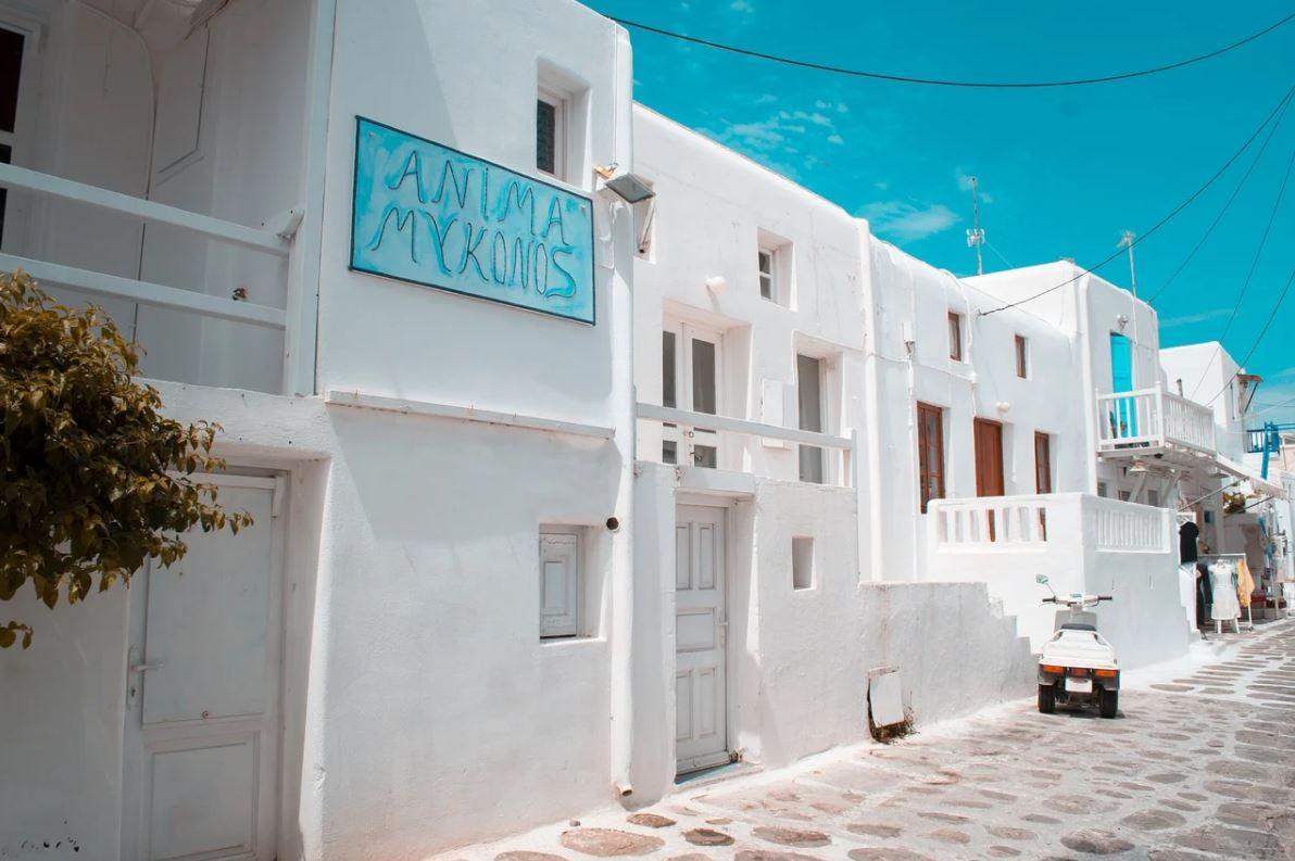 voyage à mykonos depuis lyon