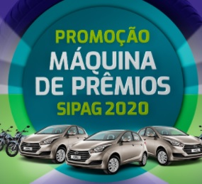 Promoção Sipag Maquininha 2020 Máquina de Prêmios Sorteio Carros e Motos