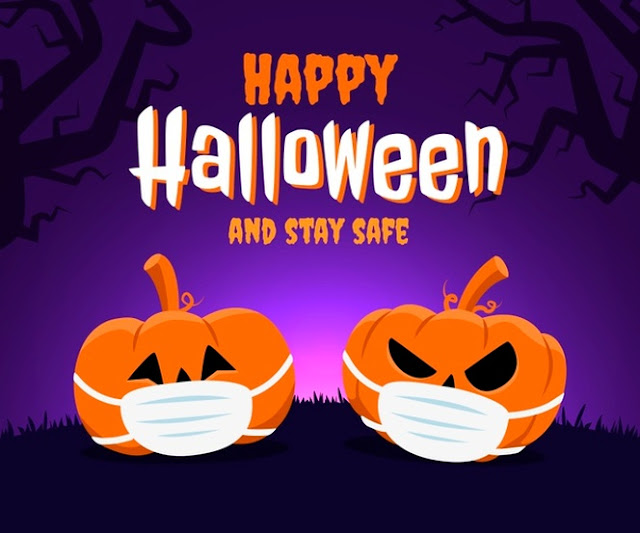 Halloween na quarentena