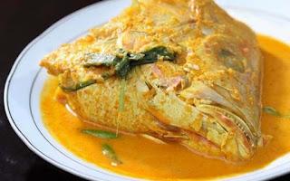 Resep Sederhana : Cara Membuat Gulai Kepala Ikan Kakap Gurih Enak Dan Nikmat