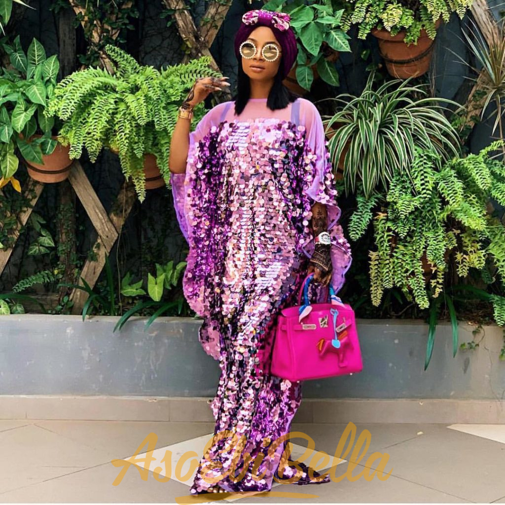 #EbFabLook Vol 44A: Try This New Aso-Ebi Style Worn From 10th To 20th February 2019