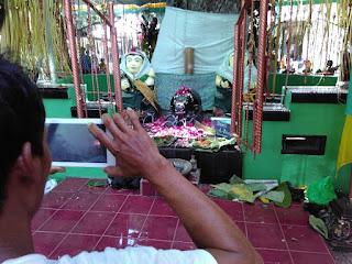 Pepunden leluhur warga Dlimas melestarikan Bersih Desa Tanjungsari