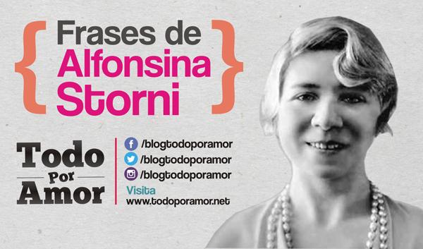 Frases de Alfonsina Storni