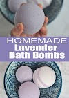 Homemade Lavender Bath Bombs