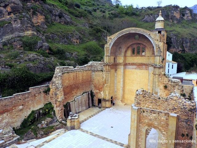 Ruinas de la iglesia de Santa María, Cazorla, Jaén, Andalucía