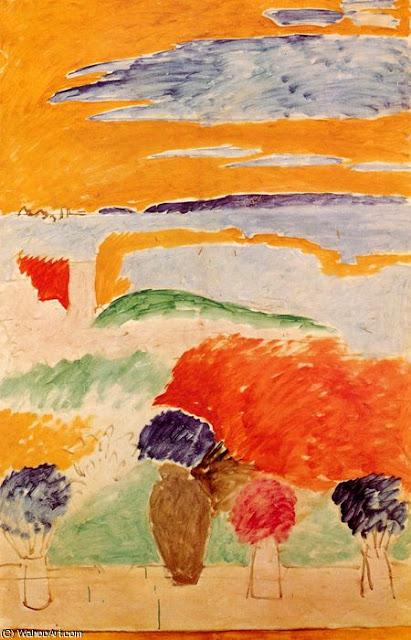 "Henri Matisse ""Okno otwarte na Tanger"" (1912) kolekcja prywatna"