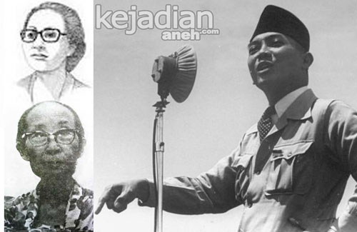 9 Istri Soekarno First President of Indonesia