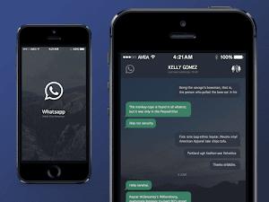 تطبيق WhatsApp يوفر ميزة الوضع الليلي Dark Mode قريباً