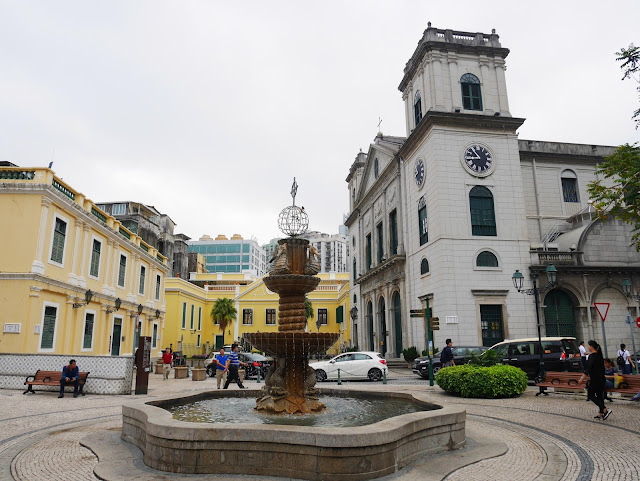 the Roman Catholic Cathedral of the Nativity of Our Lady in Macau, China