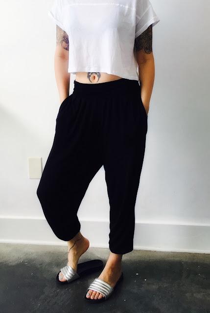 ASOS Jersey Harem Pants