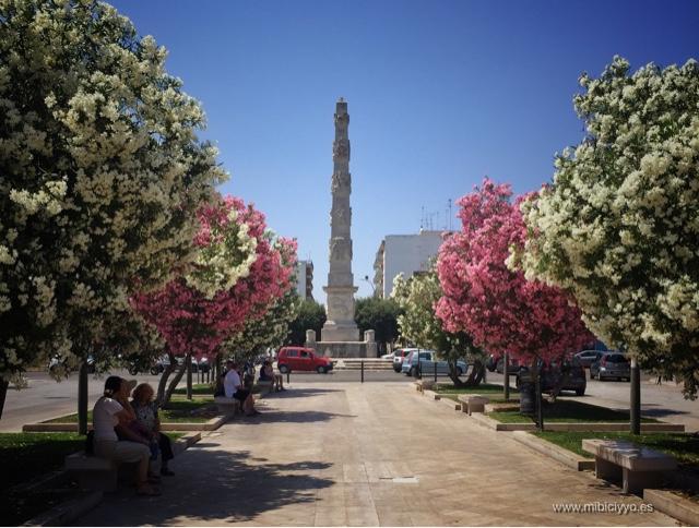 Brompton Bike Obelisco di Lecce , Piazzetta Arco di Trionfo