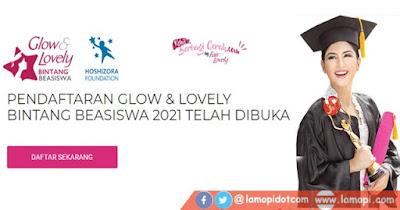 Beasiswa Fair and Lovely 2021