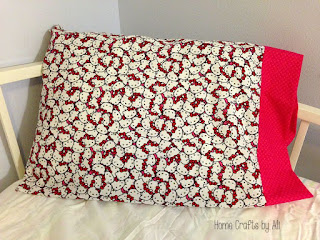 quick and easy beginner sewing pillowcase tutorial