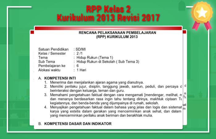 RPP Kelas 2