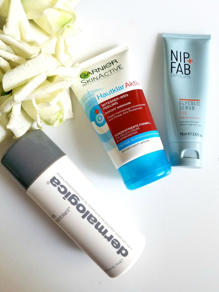 Best of Skincare 2017 - Cleanser / Hautreinigung Peelings: dermalogica daily microfoliant, garnier mitesser-weg peeling, nip fab glycolic peel - Madame Keke The Luxury Beauty & Lifestyle Blog