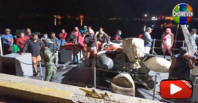 Trinidad y Tobago deportó a 160 balseros venezolanos