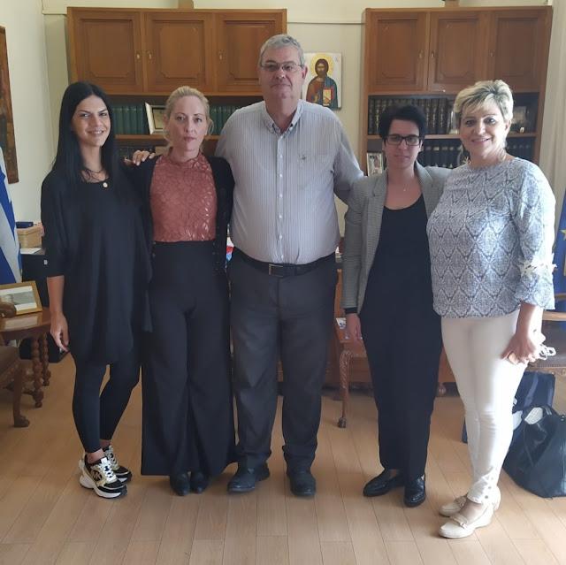 Ήγουμενίτσα: Τι συζήτησε η νέα διοίκηση του ΟΛΗΓ με τον Αλέκο Καχριμάνη