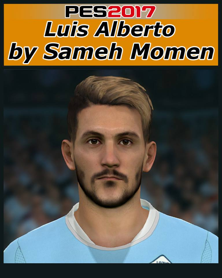 PES 2017 Luis Alberto Face by Sameh Momen