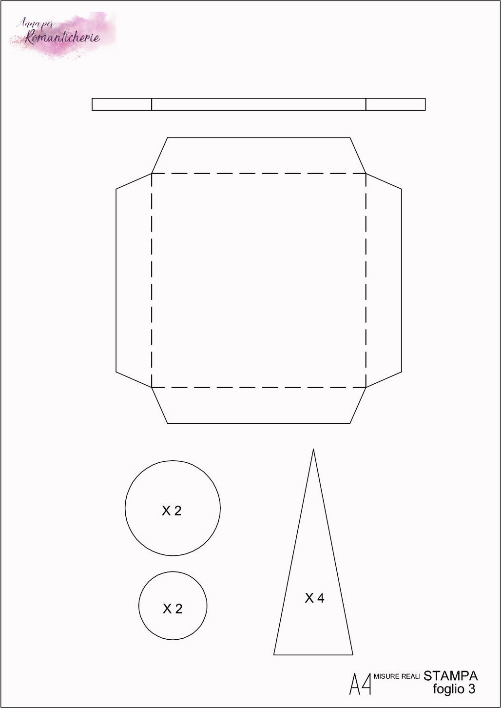 Modello da stampare - Carretto Luna park