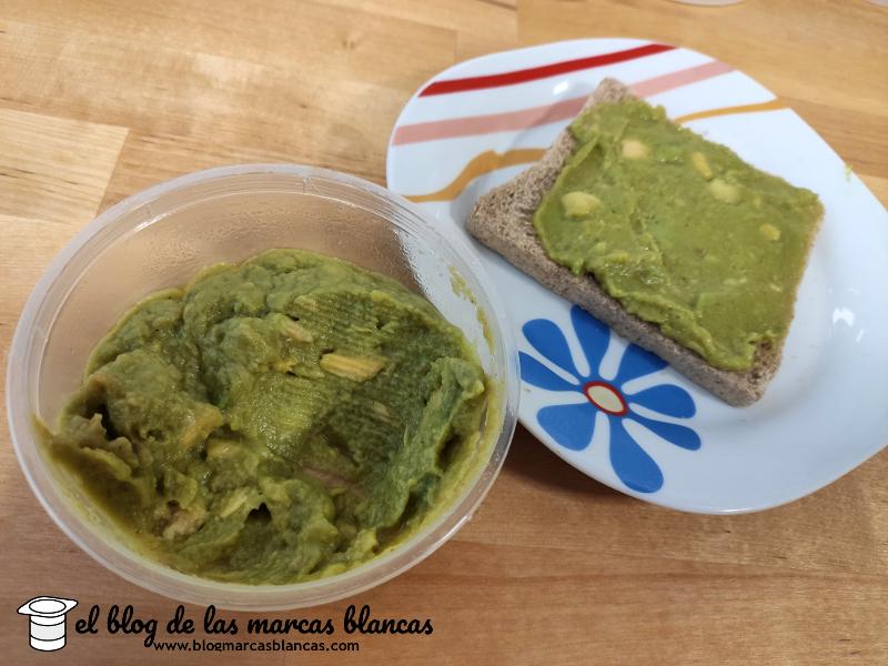 Tostada de Guacamole ecológico suave GUTBIO (Aldi) - El Blog de las Marcas Blancas