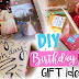 Stunning DIY Birthday Gift Ideas for Everyone!