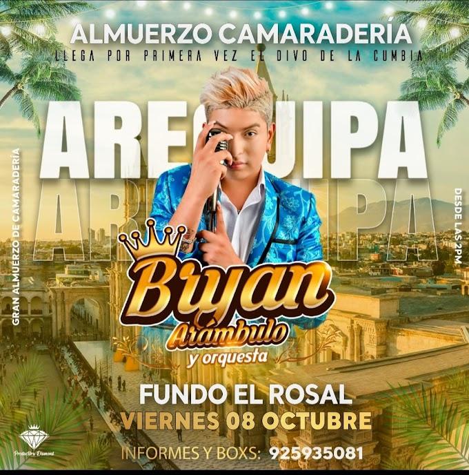 Bryan Arambulo en Arequipa 2021 - 08 de octubre