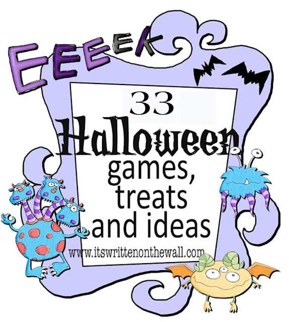 It's Written On The Wall: 33 Fun Halloween Games, Treats ...